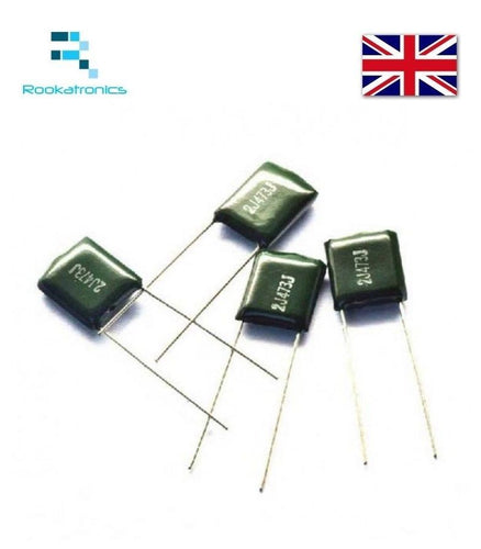 Polyester Film Capacitor 630V Rate - Values between 1NF- 47NF