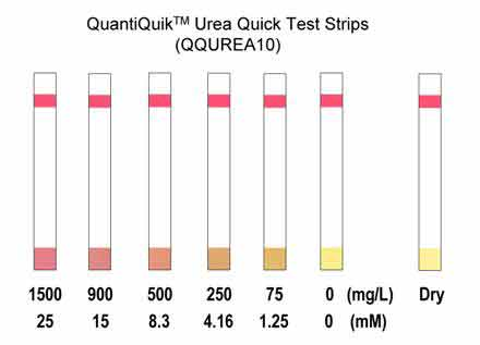 QuantiQuik™ Urea (BUN) Quick Test Strips