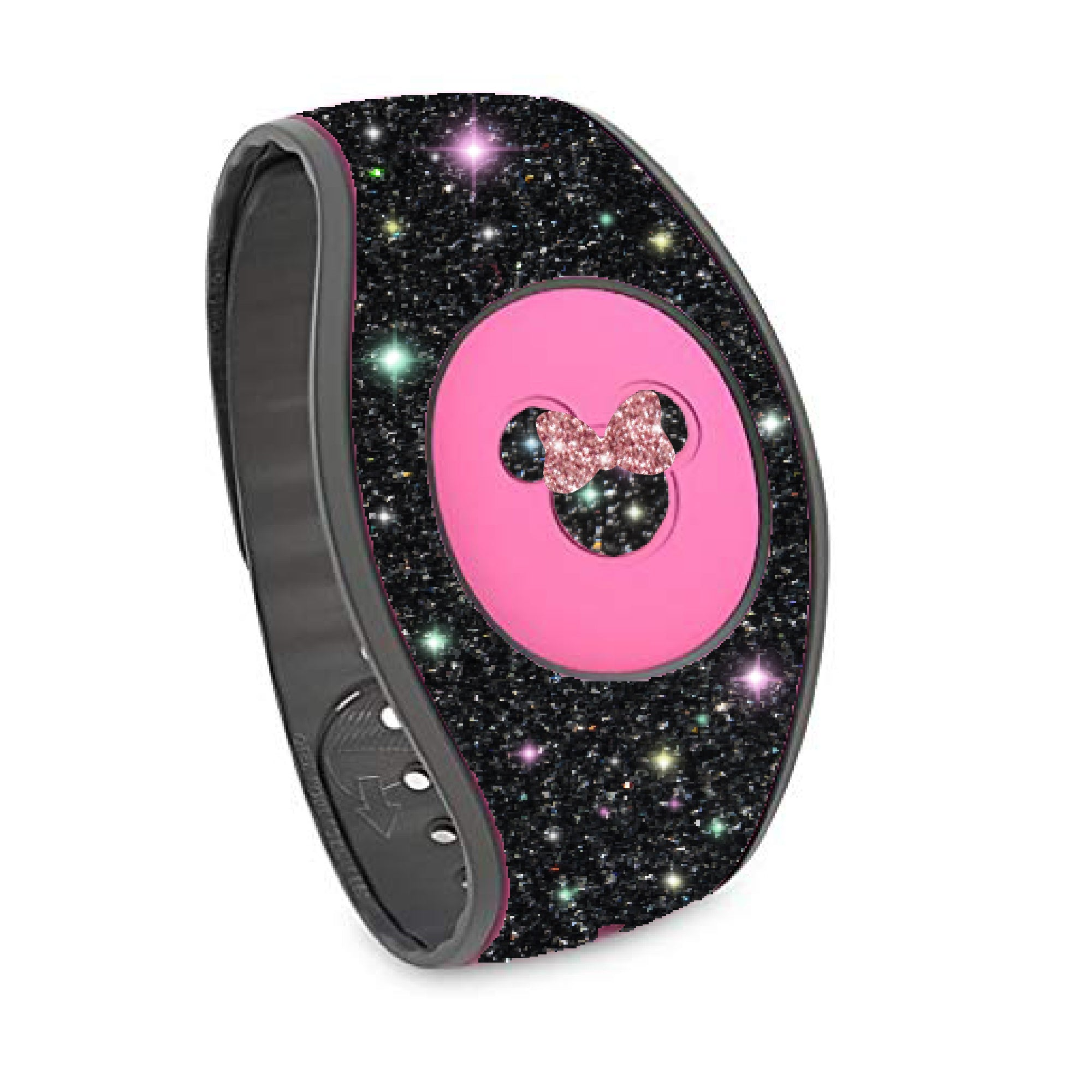 wraps for magic band Magic Band skins cover holographic purple glitter Magic band 2.0 decal skins stickers scratch resistant decals wrap