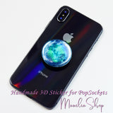 Moon sticker for popsockets galactic planet pop socket