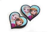 Elsa hair clips Frozen