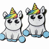 Unicorn - hair clips