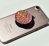 Disco Crystal rose gold swappable popsockets