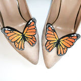 butterfly shoe clip, wedding shoe accessories