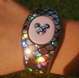 Sparkly skins cover holographic Magic band 2 skins stickers, Magic band decals, wraps for magic band