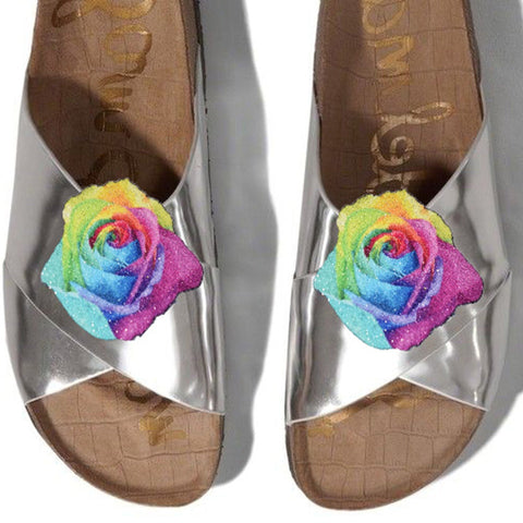 Roses shoe clips, colorful rose, shoe clips, shoe clip, wedding shoe clips, wedding shoes, bridal shoe clips, shoe accessories,	 bridal shoes, bridal shoe clip,