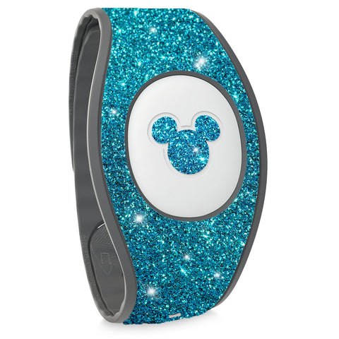 aqua blue magic band 2 stickers, wraps for magic band 2, dicneyland trip accessories