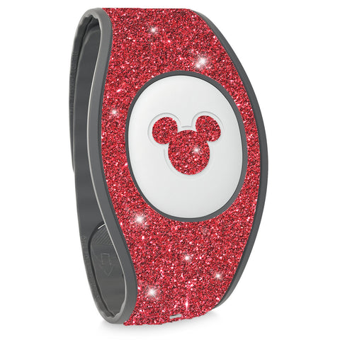 blush bracelet glitter wraps for Magic band 2