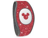 blush glitter sticker for MAgic Band 2 Disney bracelet