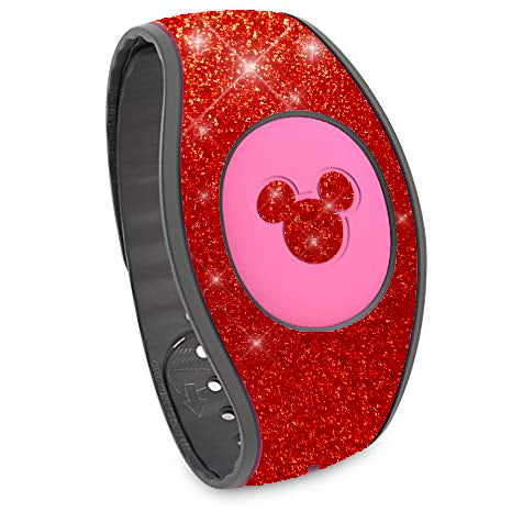 Magic Band 2 red glitter wraps