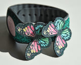 rainbow butterfly pin for magic band