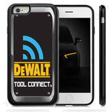 Electrician Tools Inspired DeWalt rubber Case Cover for iPhone