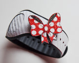minnie bow pin for magic band
