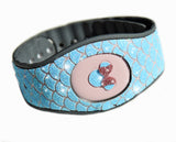 Mermaid scales, blue glitter wraps for Disney Magic Band 2, Disneyland trip accessories