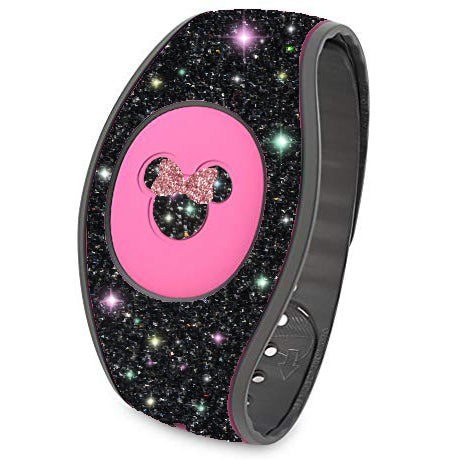 Minnie Mouse with bow sticker for Magic Band, Magic Band strap sticker