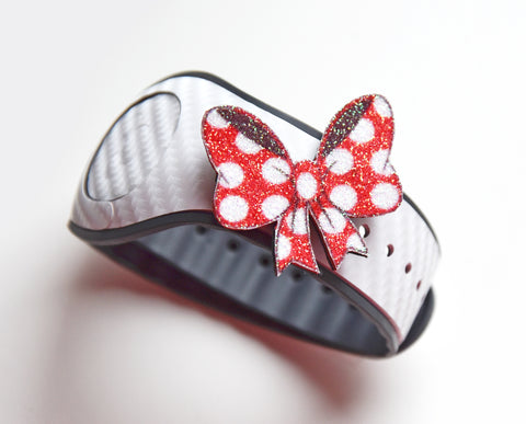 minnie bow polka dots