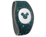 Night sky magic band 2, Night Sky holographic glitter wraps for Magic Band, skins cover holo glitter straps, Magic band decals wrap, wraps for magic band