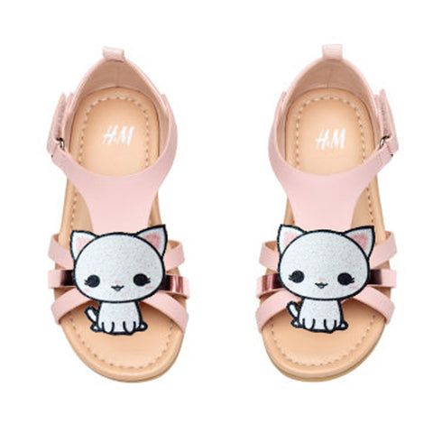 Cat shoe clips for girl