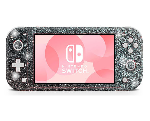 Nintendo Switch Lite glitter wrap, skin for nintendo