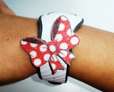 Minnie bow pin for apple watch straps