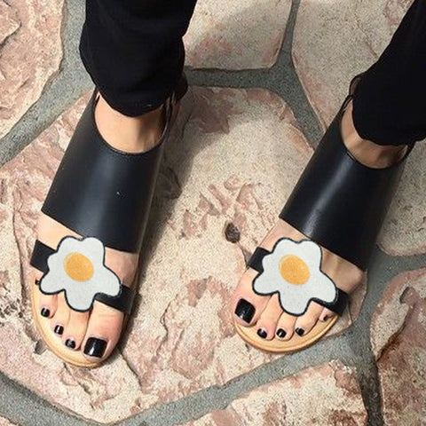 Fried eggs shoe clips, funny shoe clip, Easter fashion, fashionable chef, Fashion shoe accessories