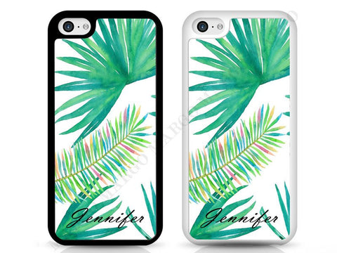 Palm Waterpainting Personalised Phone Cases for iPhone and Samsung
