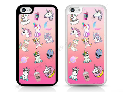 Unicorn, rainbow, alien, ufo, mermaid Case, HARD PLASTIC case for iPhone and Samsung, iPod