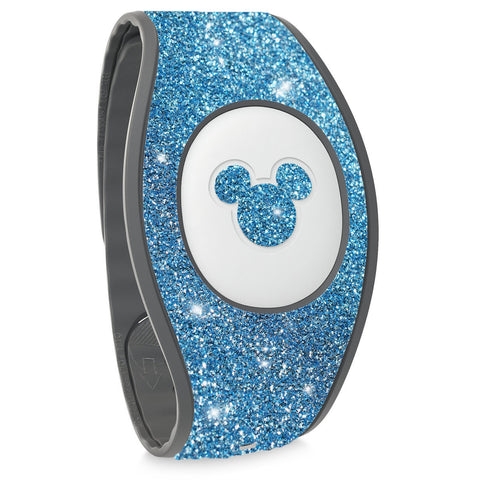 blue glitter sticker for Disney Magic Band 2