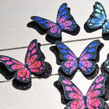 Shoe clips, butterfly shoe, sophia webster shoe,