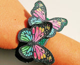 butterfly straps charms