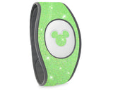 Neon green glitter Magic Band 2