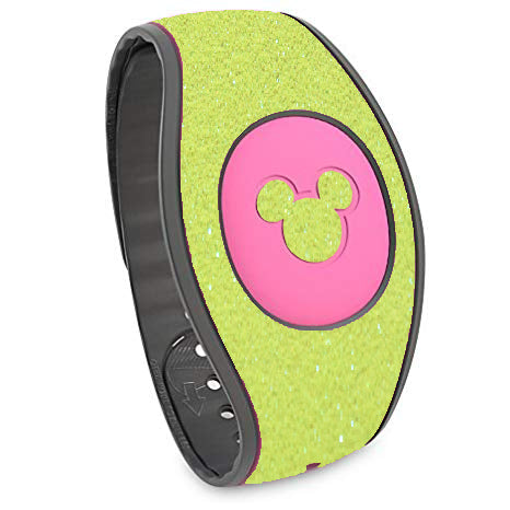 Neon glitter wraps for Magic Band 2