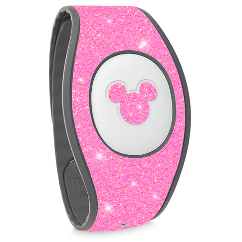 Neon glitter Magic Band 2 stickers, wraps for bracelet , disneyland trip accessories