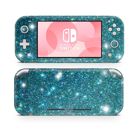 Holo blue turquoise Nintendo Switch Lite