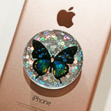 unicorn rainbow diamond pop socket