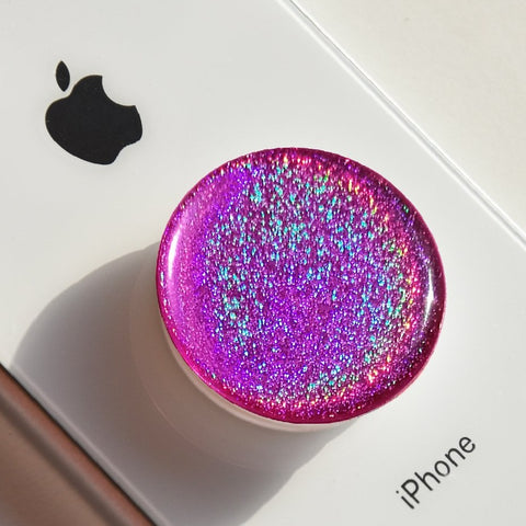 Purple Magic Dust sticker made for popsockets, universal phone holder