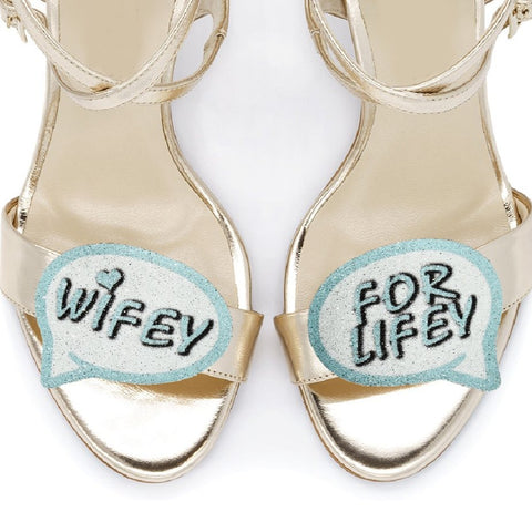 Wifey for Lifey shoe clips