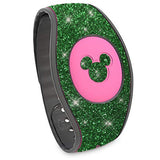 Green glitter Magic Band 2 wraps for Disney Bracelet