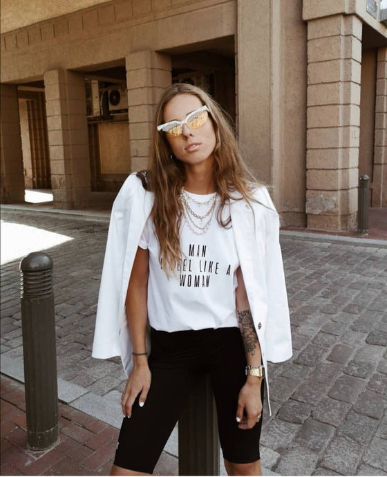 5 Ways To Style Your White Tee