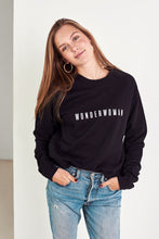 Load image into Gallery viewer, WONDERWOMAN Jumper in Black