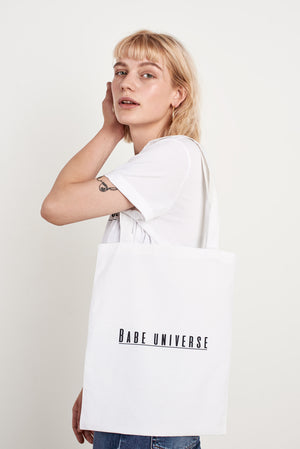 Babe Universe Sustainably Made Signature Tote Bag