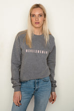 Load image into Gallery viewer, WONDERWOMAN Jumper in Grey And Pink