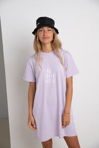NO SUGAR ADDED #ECOFRIENDLY dress in lilac