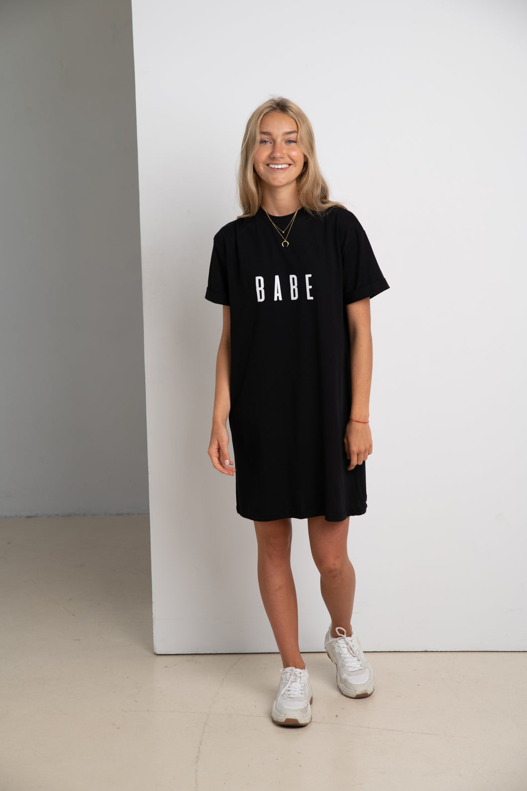BABE #ECOFRIENDLY dress in black