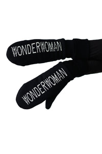 100% Merino Wool Locally Made WONDERWOMAN Gloves