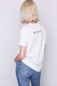 NO SUGAR ADDED White T-Shirt