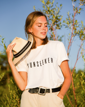 Load image into Gallery viewer, SOLD OUT: SUNSEEKER #ECOFRIENDLY T-SHIRT / IN COLLABORATION WITH SUN365
