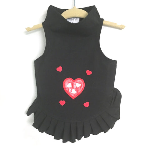 212D Multi Hearts Dress