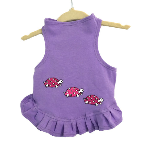 308D Daisy & Lucy Racing Turtles Flounce Dress