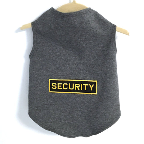 325T Daisy & Lucy Security Guard Dog Tank